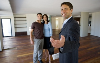 Real Estate Agent in selling a home